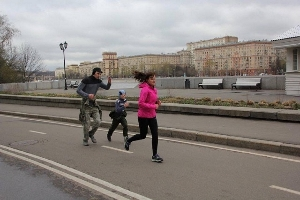 Parkrun in Moskou