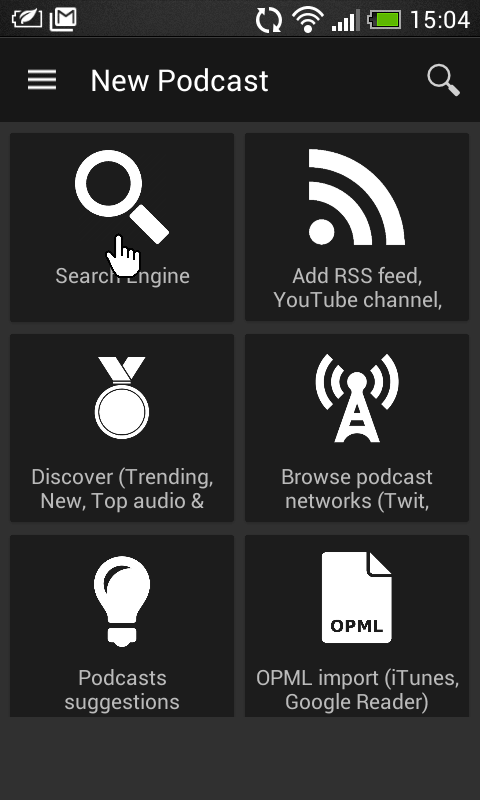 Podcast Android - Stap 3